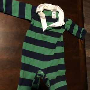 Polo Ralph Lauren Boys Striped Rugby Suit